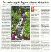 Wettbewerb Neue Nachbarschaft der MontagsStiftung Bonn